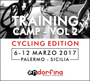 TRAINING CAMP VOL. 2 CYCLING EDITION 6-12 MARZO 2017