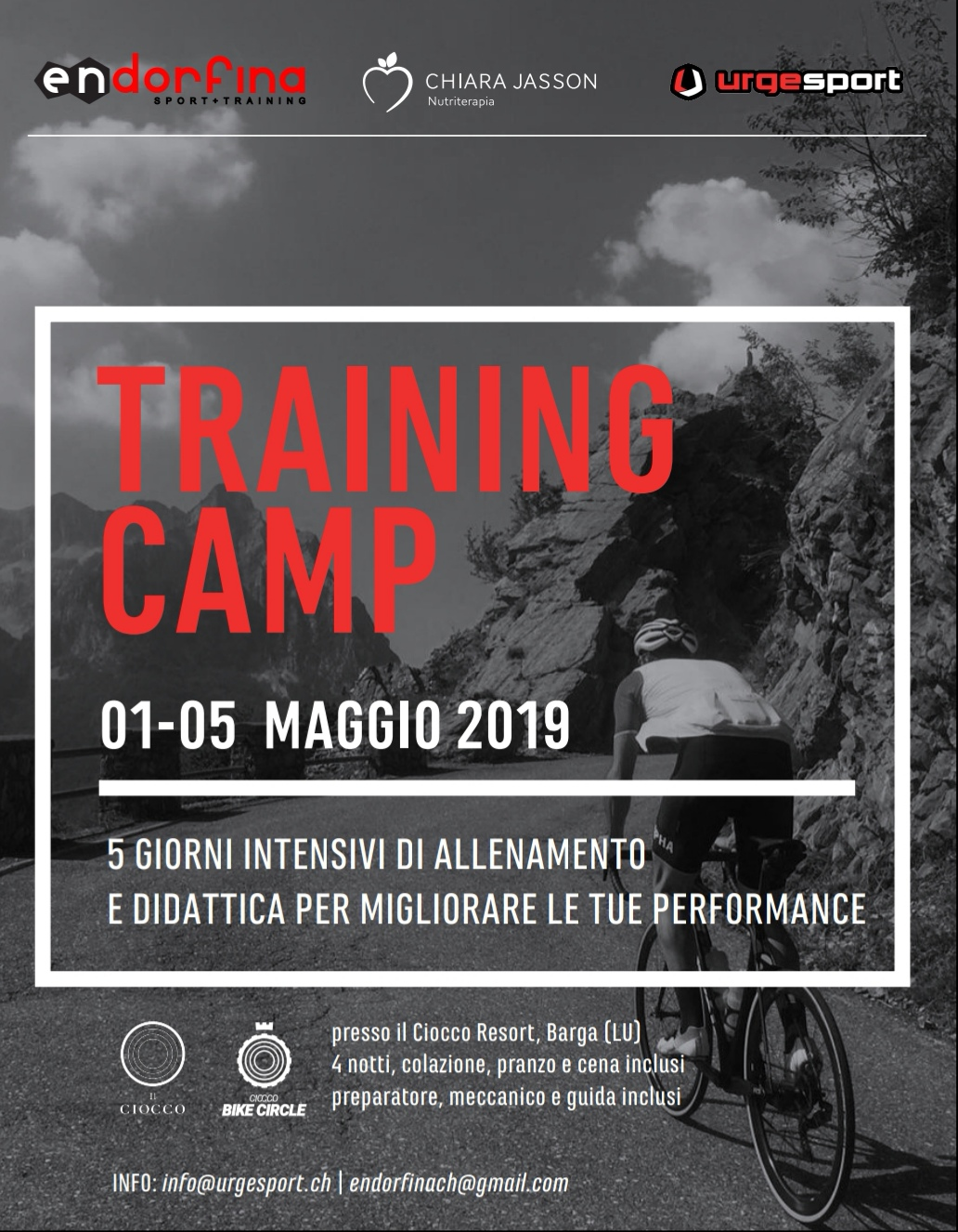You are currently viewing TRAINING CAMP 2019 – 1/5 MAGGIO – BIKE & TRI